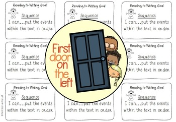 Reading to Writing Goals Monsters