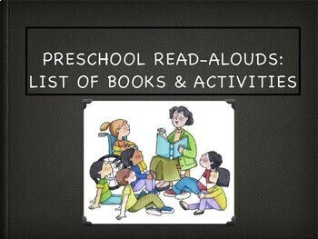 PRESCHOOL READ ALOUDS BOOK SUGGESTIONS & ACTIVITIES!