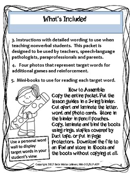 AAC: Learning to Read Lesson 3