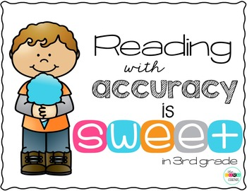 Reading with Accuracy in 3rd Grade Activity