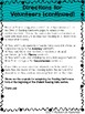 Reading with Classroom Volunteers Pack with Rubric and Conference Form