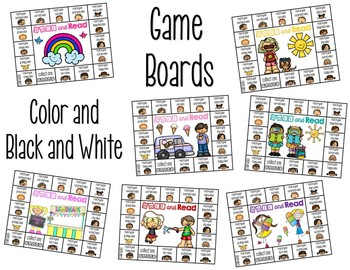 Reading Fluency {A Reading with Expression Game} Summer Edition