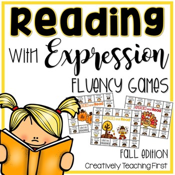 Reading with Expression {A Fluency Game} fall edition