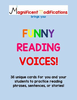Reading with Funny Voices!