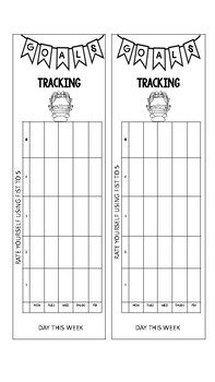 Reading with Independence Bookmarks to use when GOAL setting