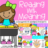 Reading with Meaning: Reading Strategies Posters