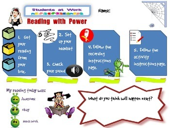 Reading with Power - Version 2 - Independent Oral Reading and Activities