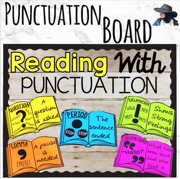 Reading with Punctuation Bulletin Board