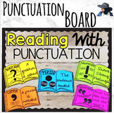Punctuation Bulletin Board Reading
