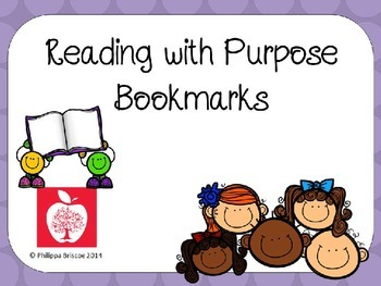 Reading with Purpose Bookmarks