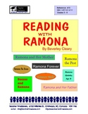 Reading with Ramona    (Novels by Beverley Cleary)    for grades 4 - 6