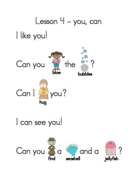 Reading with Sight Words