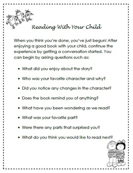 Reading With Your Child - A Guide For Parents