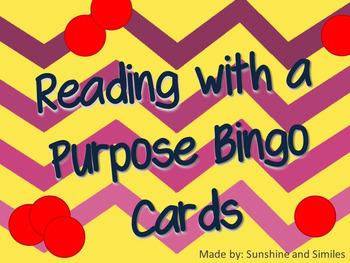 Reading with a Purpose Bingo