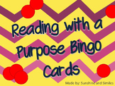 Reading with a Purpose Bingo