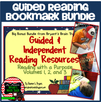 Guided Reading Bookmark Bundle
