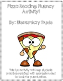 Reading with expression practice! I love cheese pizza fluency reading
