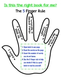 Reading with the 5 Finger Rule