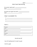 Reading word count goal paper