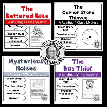 Reading4 Clues Mystery Bundle