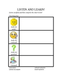 Reading/Content Area Graphic Organizer- Great for ELLs!