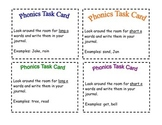 Reading/ELA Task Cards