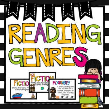 Genre Posters Classroom