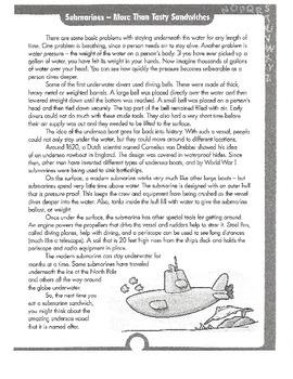 Reading/Grammar Unit-Common Core 5th Grade