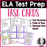 ELA Test Prep Task Cards