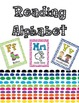 Reading Alphabet {Poster set} #2fortuesday