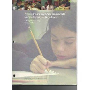 Reading/Language Arts Framework for California Public Schools
