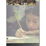 Reading/Language Arts Framework for California Public Schools