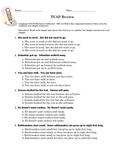 Reading/Language Arts TCAP Prep Homework