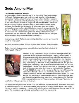 Reading/Worksheet: Gods Among Men- Christianity & Rome