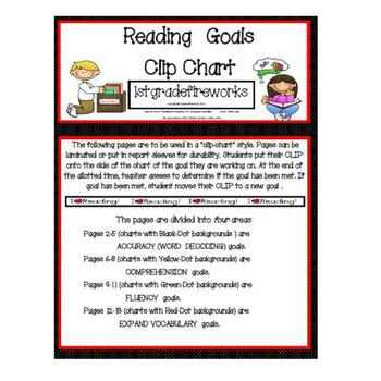 Reading/Writing Clip Chart Mega-Pack