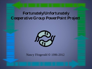 Reading/Writing PowerPoint Activity based on Fortunately by Remy Charlip