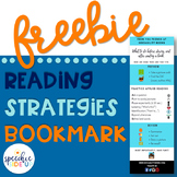 FREE Readings Strategies Bookmark