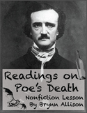 Edgar Allan Poe's Death Readings: Focus on Nonfiction Skills, Argument Essay