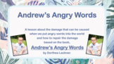 Ready 2 Use ANDREW'S ANGRY WORDS ANGER MANAGEMENT SEL LESS