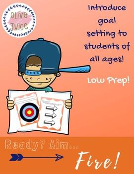 Ready, Aim, Fire! Goals Activity