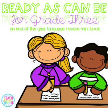 Ready As Can Be For Grade Three! {A Second Grade Language Review Mini Book}