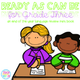 Ready As Can Be For Grade Three! {A Second Grade Language