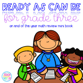 Ready As Can Be For Grade Three! {A Second Grade Math Review Mini Book}