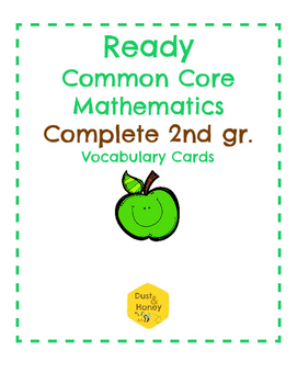 Ready Common Core Mathematics Complete Gr. 2 Vocabulary Cards
