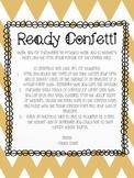 Ready Confetti