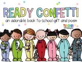 Ready Confetti - Back to School