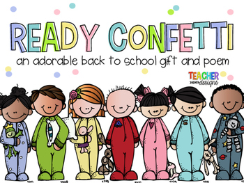 Ready Confetti - Back to School