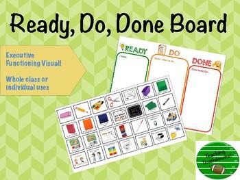 Ready, Do, Done Board