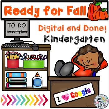 Ready For Fall Digital and Done Packet