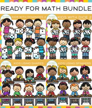 Ready For Math Clip Art Bundle